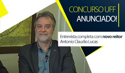 Concurso UFF: reitor quer convocações até junho. Veja entrevista!