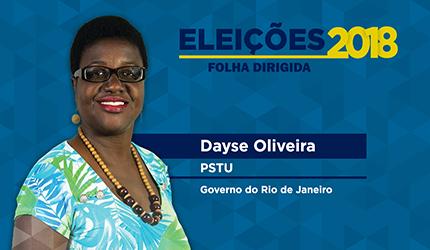 Dayse Oliveira quer abrir concursos e acabar com terceirização