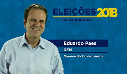 Eduardo Paes: 'O concurso público é uma obrigação do estado'