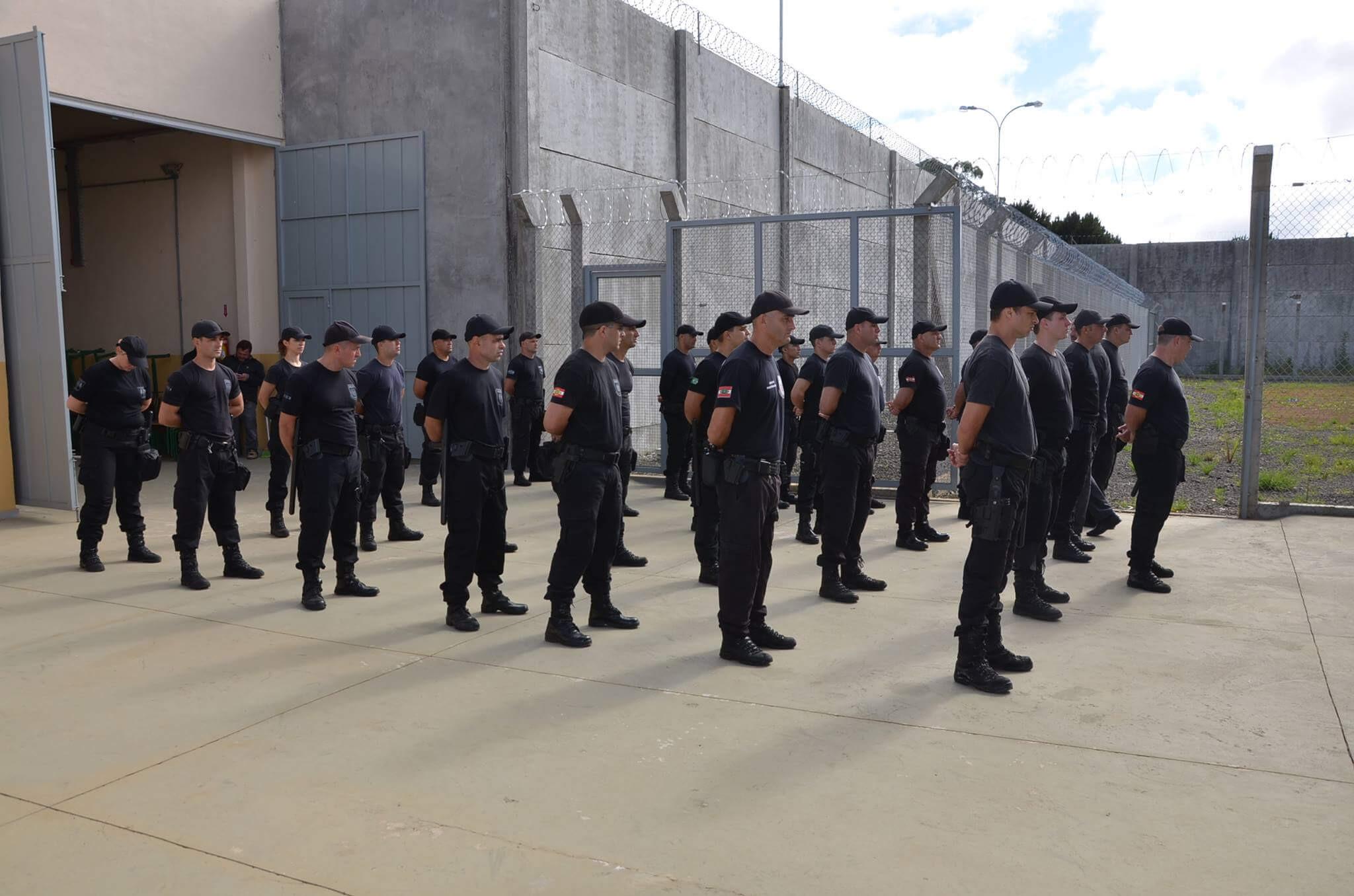 Governo de SC confirma novo concurso para agente prisional (Foto: Divulgação/SJC-SC)