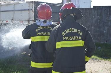 Concurso Corpo de Bombeiros PB tem etapas adiadas por causa da pandemia. (Foto: divulgação)
