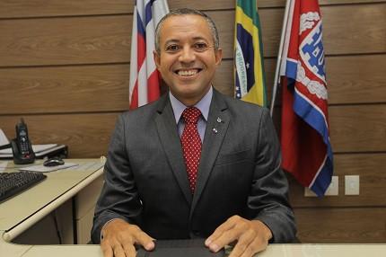 Delegado da PC-BA fala sobre a importância de repor pessoal (Foto: Divulgação/PC-BA)