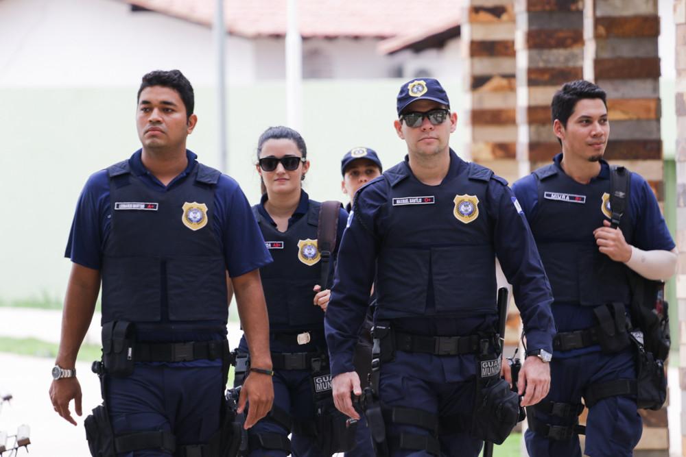 Sai resultado do TAF do concurso da Guarda de Teresina-PI (Foto: Sema/Teresina-PI)
