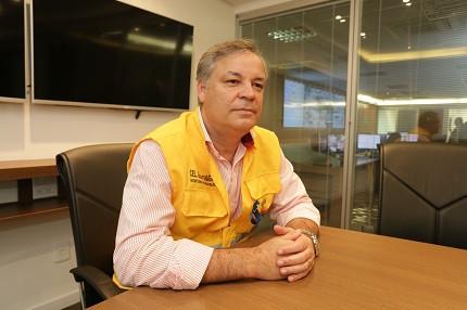 Gilson Chagas é secretário de Niterói e fala sobre o concurso (Foto: Luciana Carneiro)