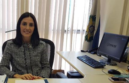 Gisele Pereira, subchefe administrativa da Polícia Civil-RJ, confirma concurso para delegado 2018