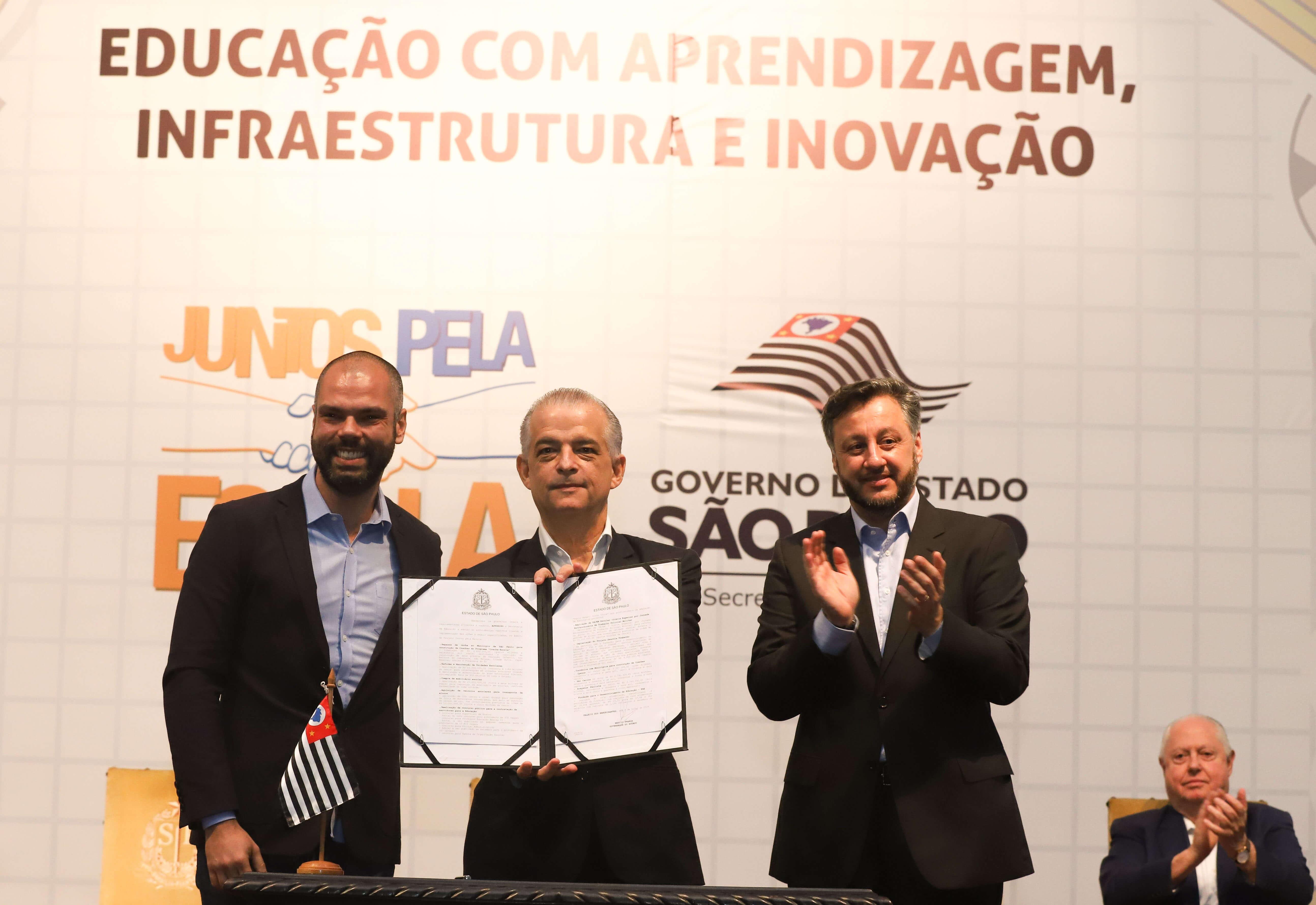 Governador Márcio França confirma concursos em São Paulo. (Foto: Governo de São Paulo)
