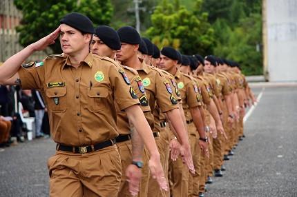 Conheça o cargo de soldado da PM e Bombeiros-PR (Foto: PM-PR)
