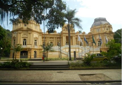 Palácio Guanabara, sede do governo do Rio de Janeiro