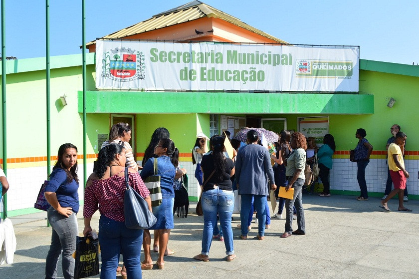 concurso Queimados-RJ (Foto: Divulgação)