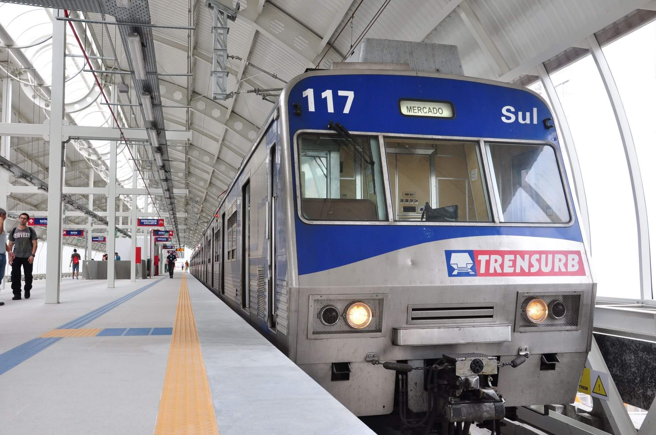 Concurso Trensurb-RS pode não ocorrer (Foto: Emilene Lopes)