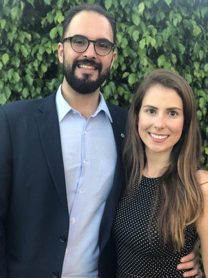 João Coelho e Daniela Von Adamek