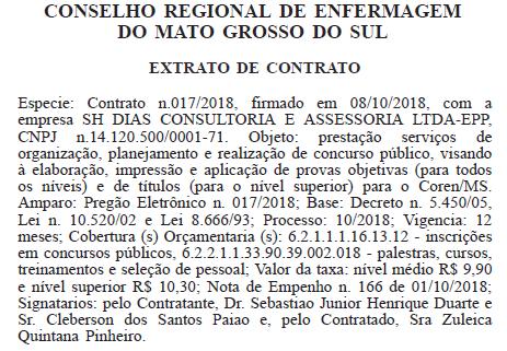 Reprodução Diário Oficial da União de 11 de outubro