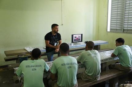 Agente socioeducativo (Foto: Novo Degase)