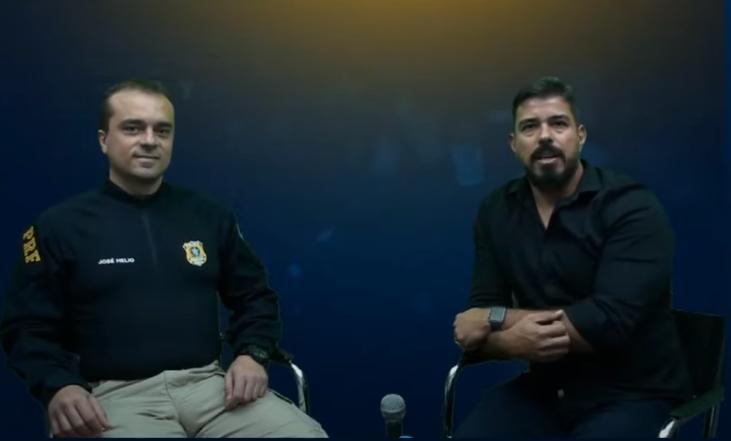 Porta-voz da PRF, José Hélio, fala sobre previsões, déficit e mais sobre o concurso(Reprodução YouTube Folha Dirigida)