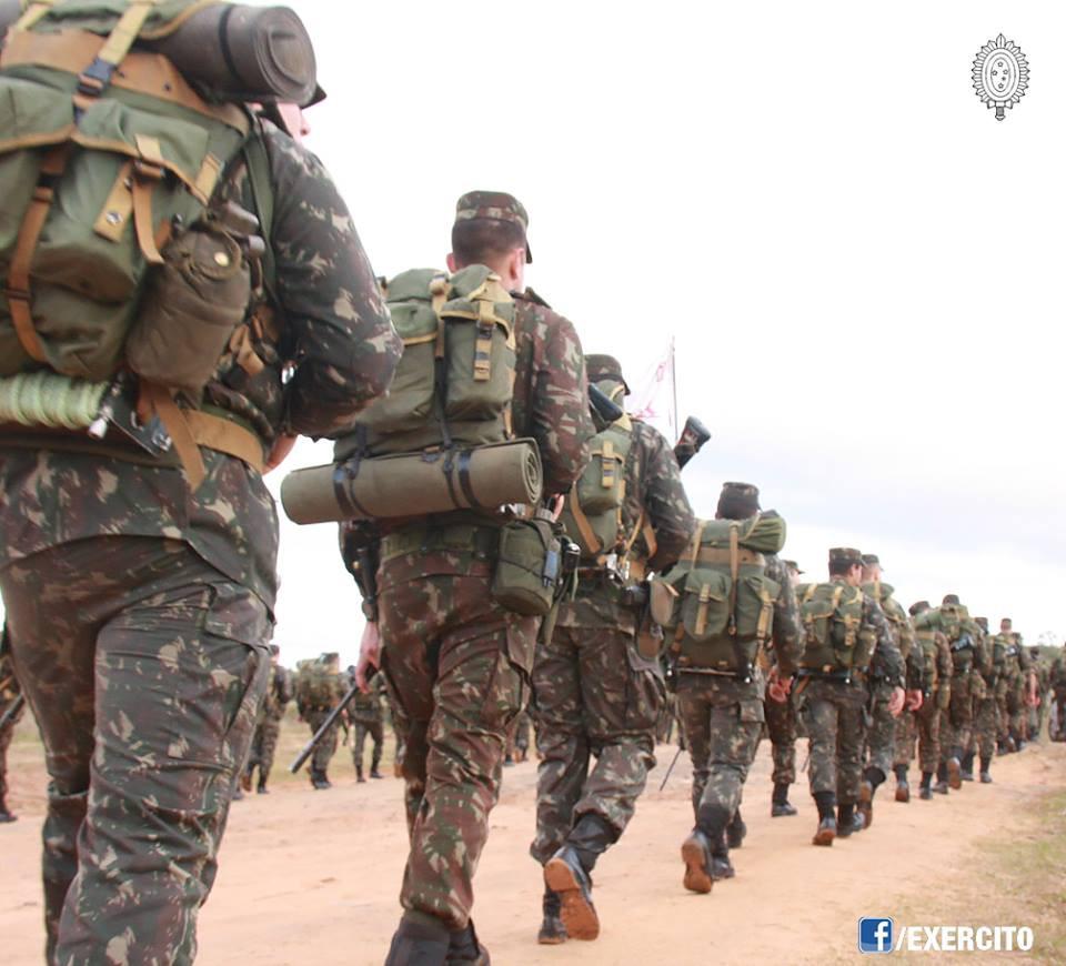 Concurso Exército (Foto: Cabo Renan)