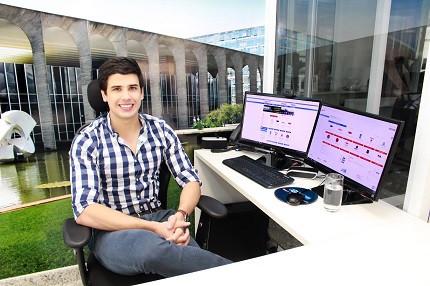 Gabriel Granjeiro, presidente do Gran Cursos Online
