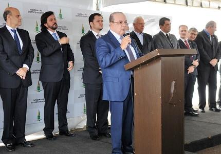 Ibaneis Rocha anuncia edital da PC-DF (Foto: SSP-DF)