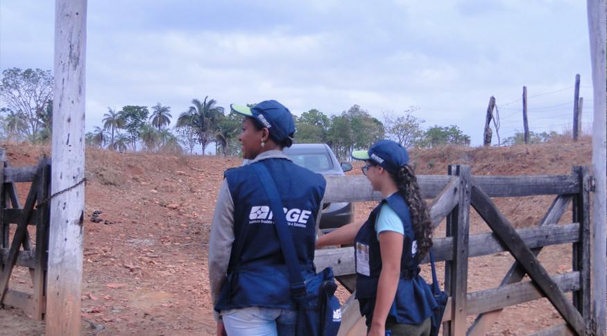 IBGE prepara novos concursos em 2019 (Foto: Leandro Santos do Maranhão)