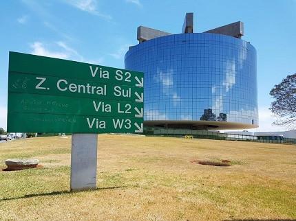 Sede do MPF, em Brasília (Foto: Bruna Somma)