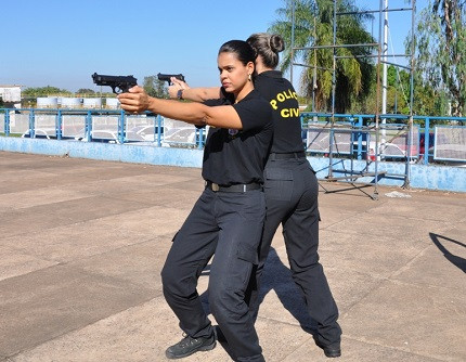 Mulheres na carreira policial (Foto: PJC-MT)