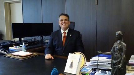 Presidente do TJ-RJ, Claudio de Mello Tavares, diz que concurso TJ-RJ sai até janeiro de 2020 (Foto: Thaymara Jansen)