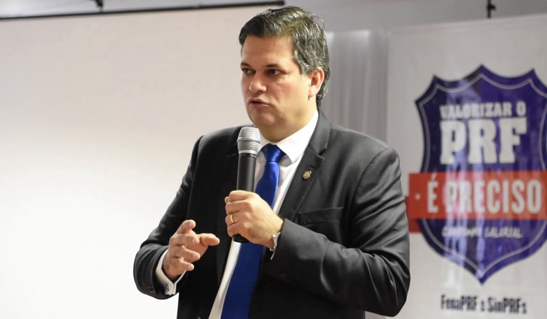Renato Dias confirma edital da PRF para novembro (Foto: Divulgação)