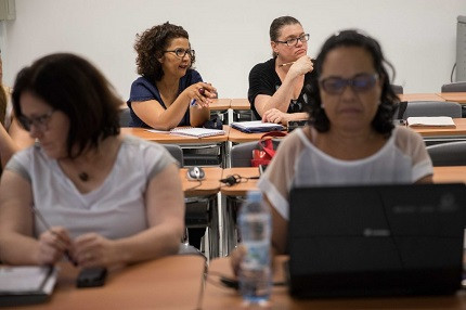 Supervisores de ensino, em São Paulo (Foto: SEE-SP)