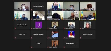 Sessão do Pleno Administrativo discute sobre concurso TJ AP para novos servidores