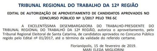 (Foto: Reprodução/ Diário Oficial)