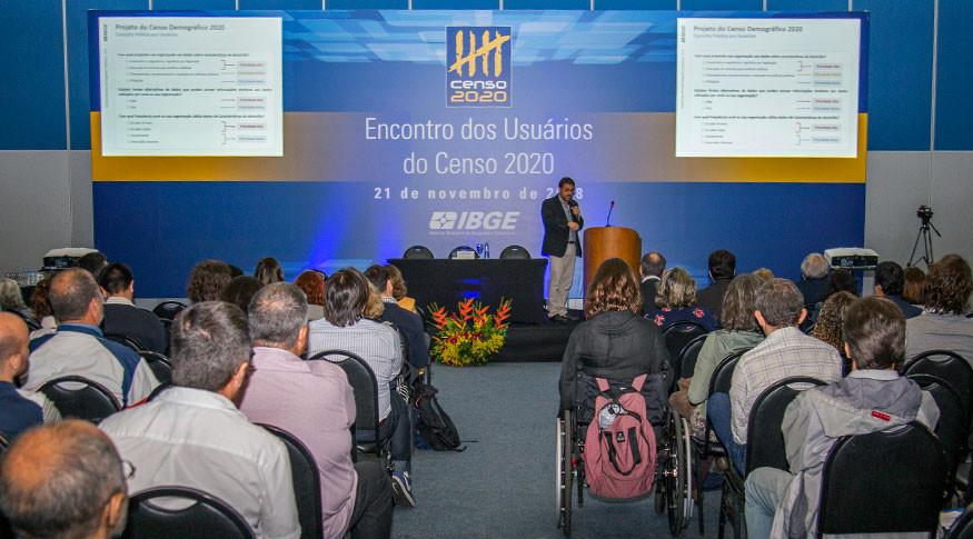 Concurso IBGE temporários (Foto: Alváro Vasconcellos)