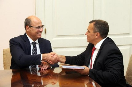 Governador Wilson Witzel e secretário da Polícia Civil-RJ, Marcus Vinicius (Foto: Divulgação)