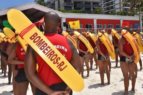 Concurso Bombeiros RJ tem 3 mil vagas temporárias previstas (Foto: CBMERJ)