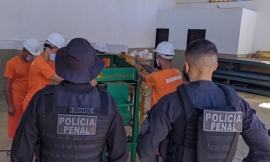Concurso Polícia Penal TO está previsto no Orçamento de 2021 (Foto: Seciju/Governo do Tocantins)