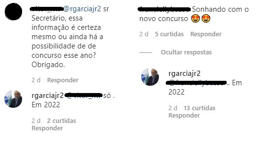 Secretário fala sobre o concurso Sefaz PR (Foto: Reprodução Instagram Sefa PR)