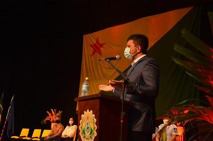 Governador confirma novos concursos Acre (Foto: Marcos Santos)