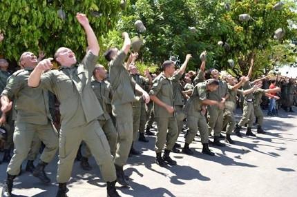 Concurso PM PI é realizado (Foto: PMPI/Divulgação)