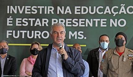 Governador Reinaldo Azambuja anuncia novo concurso para professores efetivos