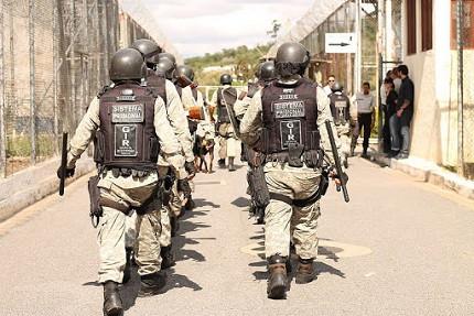Agentes penitenciários em Minas Gerais