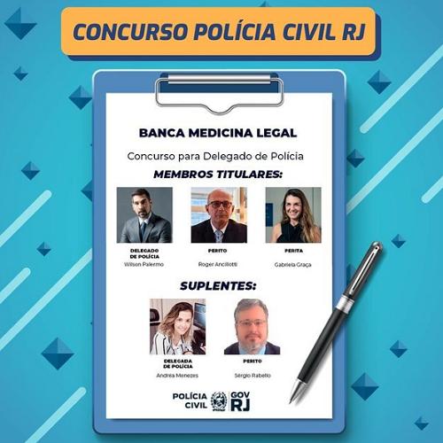 Banca Medicina Legal PC RJ
