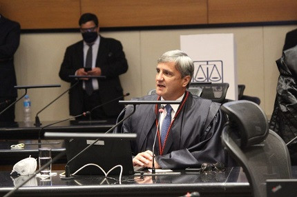 Presidente do TJ RJ, desembargador Henrique Figueira
