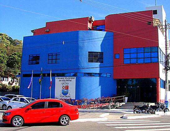fachada da Câmara de Vila Velha ES (Foto: Divulgação)