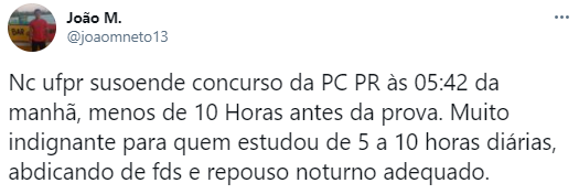 rede sociais concurso PC PR