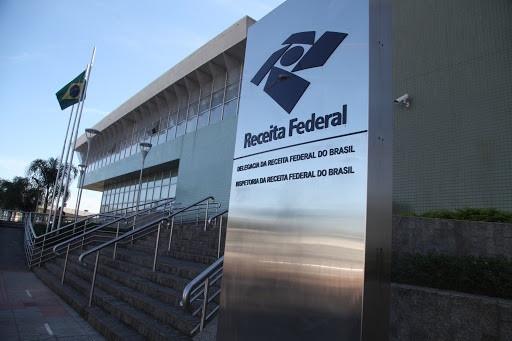Fachada de uma unidade da Receita Federal