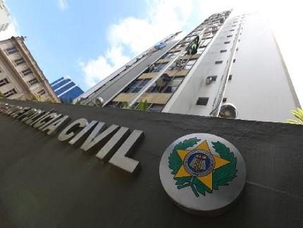 Fachada do prédio sede da Polícia Civil do Rio de Janeiro