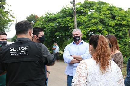 Secretário de Segurança de Minas Gerais, Rogério Greco, visita unidade socioeducativa em Minas Gerais
