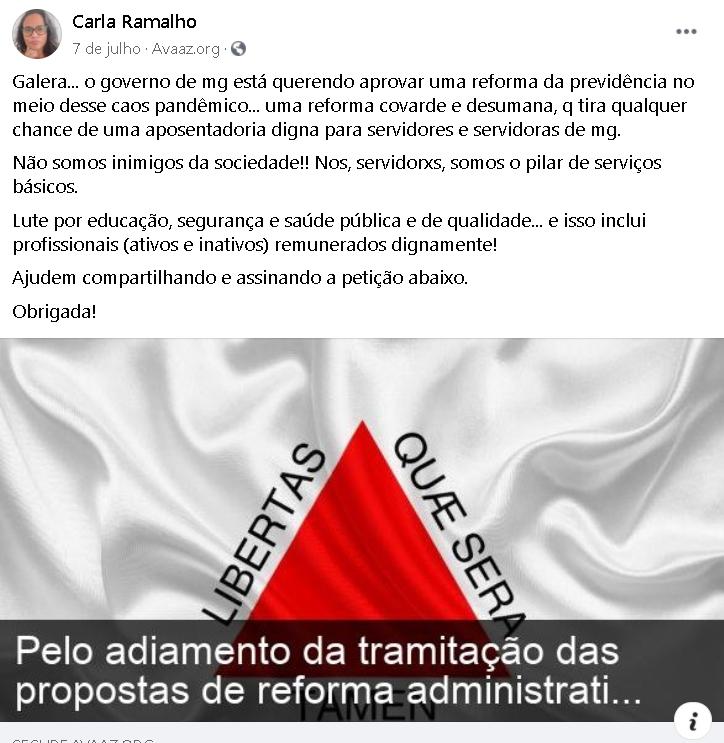 reforma administrativa facebook