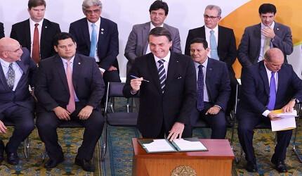 De acordo com Bolsonaro, a Reforma Administrativa só valerá para futuros servidores