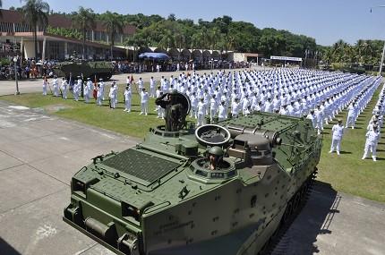 Marinha recebe quase 20 mil inscritos no concurso de fuzileiro (Foto: Divulgação)