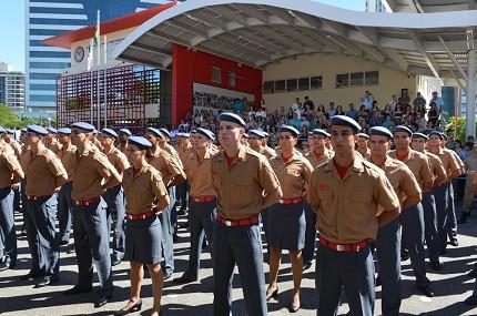 Bombeiros-ES convocou aprovados para o curso de formação (Foto: Romero Mendonça/Governo-ES)