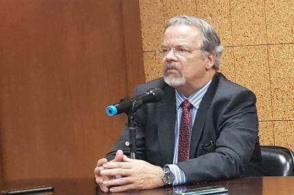 Jungmann fala sobre PRF durante evento no IBGE (Foto: Letícia Santos/Folha Dirigida)